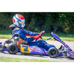 CKR Stingray Racing Go Kart On Track Briggs 206