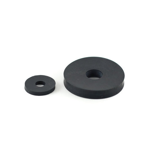 "Neoprene Pan Washer 3/4"" x 1/8"" 6mm hole PointKarting.com"
