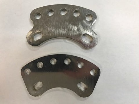 Seat Stay Extender with 8mm holes (pair) PointKarting.com