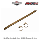 Honda & Clone GX 390 Exhaust Support Hardware Kit