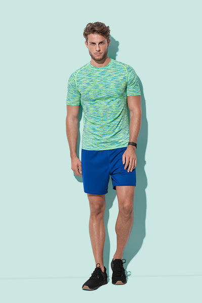 Men's Active Seamless Raglan T-shirt
