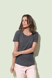 Women's Organic Slub Crew Neck T-shirt