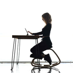 Sleekform Ergonomic Kneeling Chair Best Office Chair For Back Pain Posture Sciatica