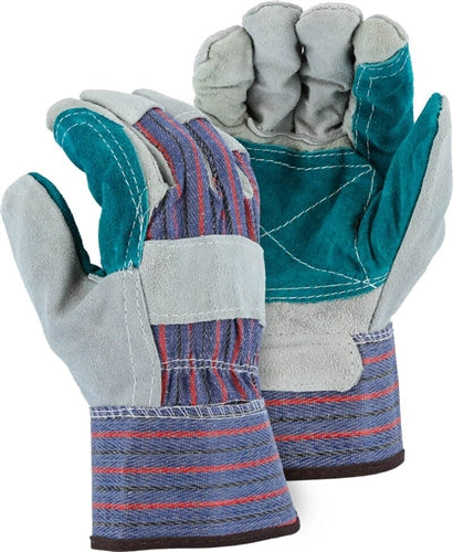 Majestic 4501CDP Leather Palm Work Gloves (Dozen)