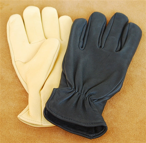 Geier Gloves 204ES LDI Thinsulate Lined Deerskin Gloves (Made In USA)