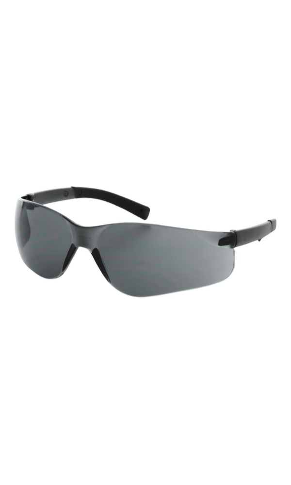 Majestic Gloves 85-1005SMK Hailstorm Safety Glasses Smoke Lens (Dozen)