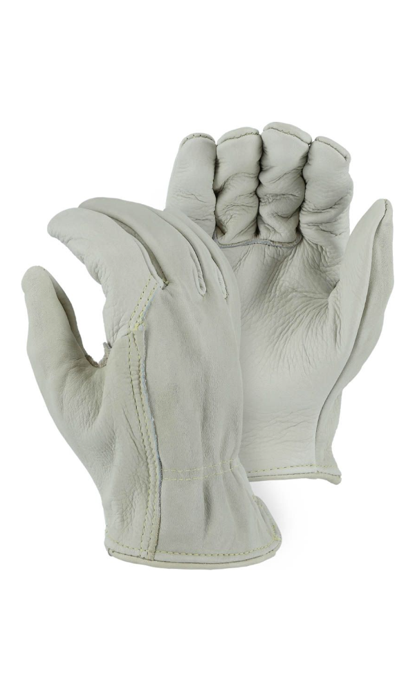 Majestic Gloves 1510W Cowhide Kevlar Sewn Gloves (Dozen)