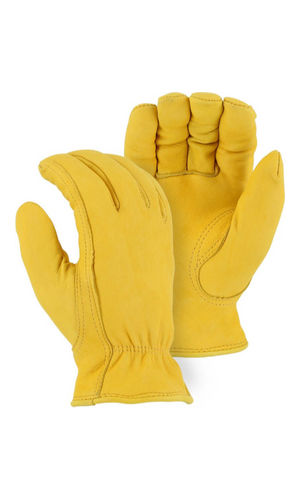 Majestic Gloves 1542T Thinsulate Winter Lined Deerskin Leather Driving Gloves (Dozen)