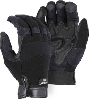 Majestic Gloves 2139 Double Palm Armor Skin Gloves (Dozen)