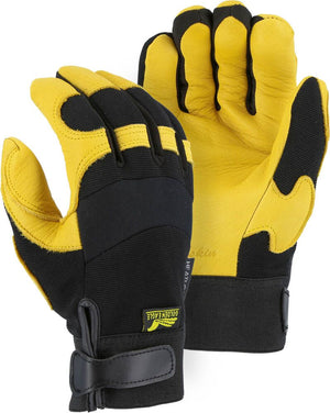 Majestic Gloves 2150H Winter Lined Deerskin Leather Golden Eagle Gloves (Dozen)