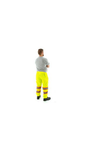 Majestic 75-2501 Hi-Vis Mesh Pants DOT Striping ANSI E