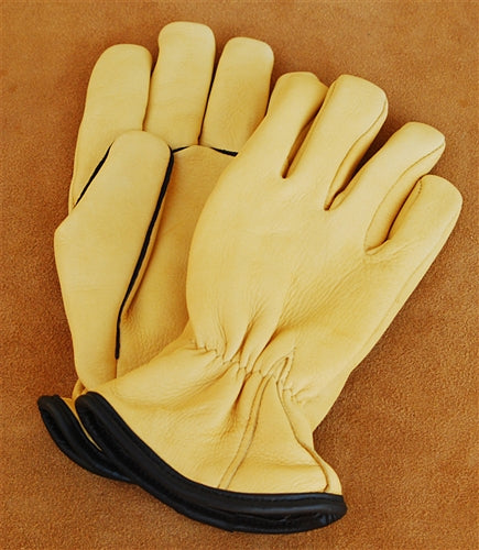 Geier Gloves 244ES LDW Merino Wool Lined Deerskin Driving Gloves (Made in USA)