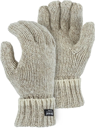 Majestic Gloves 3423 Ragg Wool Knit Thinsulate Lined Gloves (Dozen)