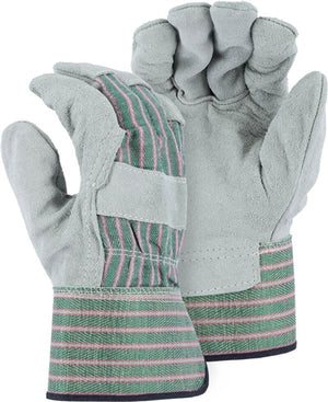 Majestic 4501C Leather Palm Work Gloves (Dozen)