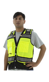 Majestic 75-3237 Hi-Vis Heavy Duty Surveyor's Vest ANSI 2 R