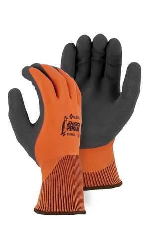 Majestic Glove 3398DLO Emperor Penguin Winter Lined Waterproof Latex Dipped Glove (Dozen)