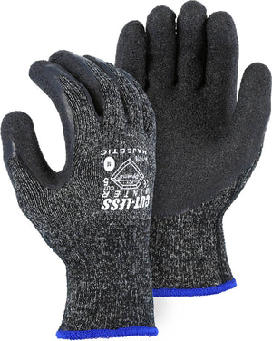 Majestic Gloves 34-1570 Winter Lined Cut Level 5 With Dyneema - Seamless Knit Latex Palm (Dozen)
