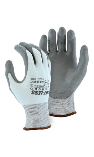 Majestic Gloves 37-3436 Dyneema Cut-less Diamond Cut Level 3 Cut Resistant Gloves (Dozen)
