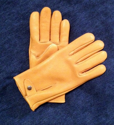 Geier Gloves 745 Genuine American Buffalo Driver (Made in USA)