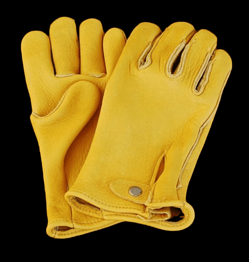 Geier Gloves 448 Elkskin Leather Heavyweight Work Gloves (Made in USA)