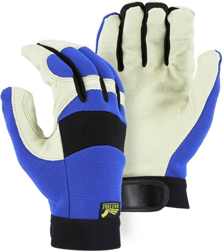 Majestic Gloves 2152 Pigskin Gloves A Grade Bald Eagle (Dozen)