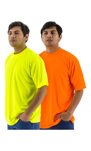 Majestic 75-5003 Site Safety Short Sleeve T-Shirt