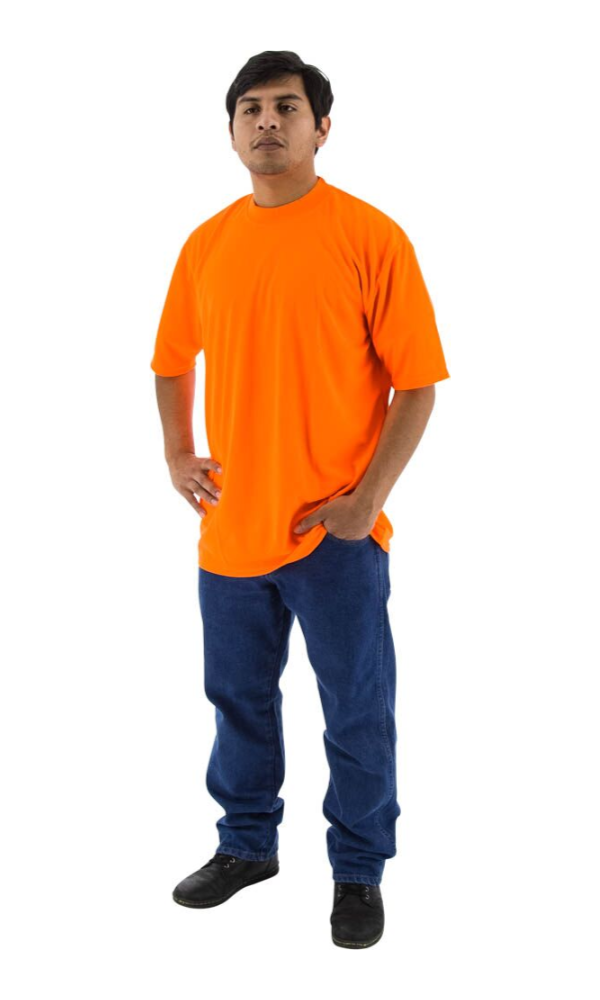 Majestic 75-5004 Site Safety Short Sleeve T-Shirt