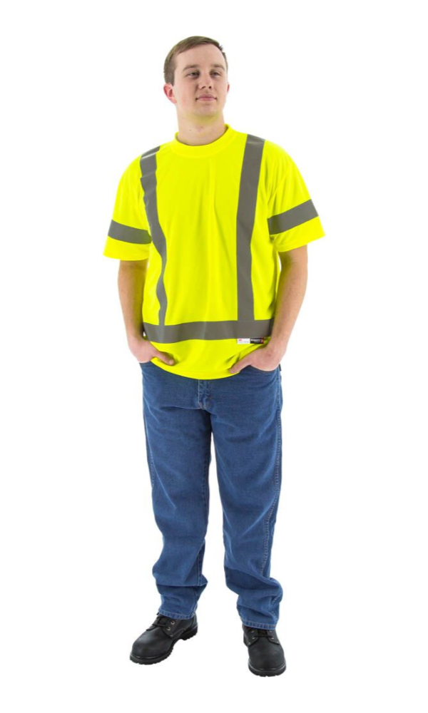Majestic 75-5303 Hi-Vis Short Sleeve Shirt ANSI 3 R