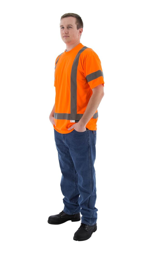Majestic 75-5304 Hi-Vis Short Sleeve Shirt ANSI 3 R