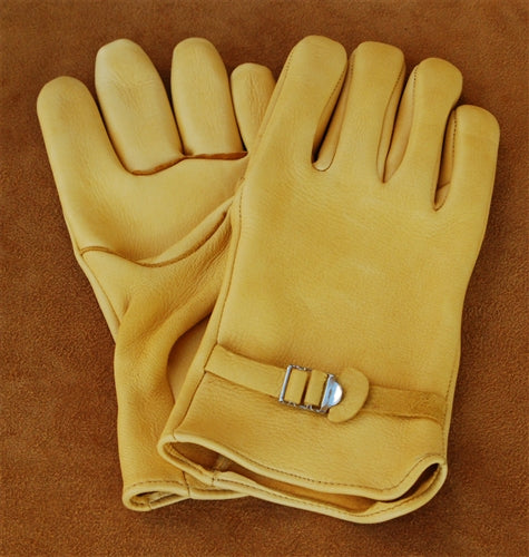 Geier Gloves 240F Medium Weight Deerskin Driving Gloves (Made In USA)