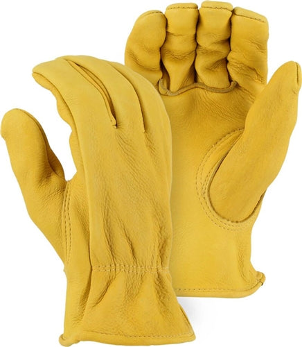 Majestic Gloves 1547 Elkskin Heavyweight Driving Gloves