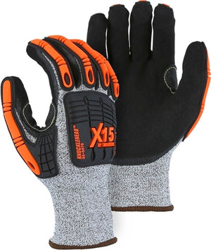 Majestic Gloves 35-5575 X-15 Cut Level 5 Impact Resistant [Dozen]