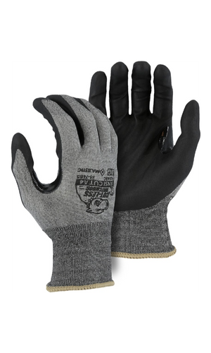 Majestic Glove 35-7465 Cut-Less Watchdog Nitrile Palm Glove (Dozen)