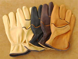 Geier Gloves 250ES LDF Nordic Fleece Lined Deerskin Driving Gloves (Made in USA)