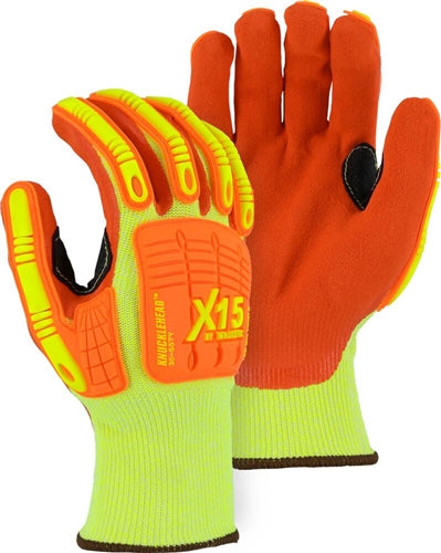 Majestic Gloves 35-557Y X-15 Cut Level 5 Impact Resistant [Dozen]