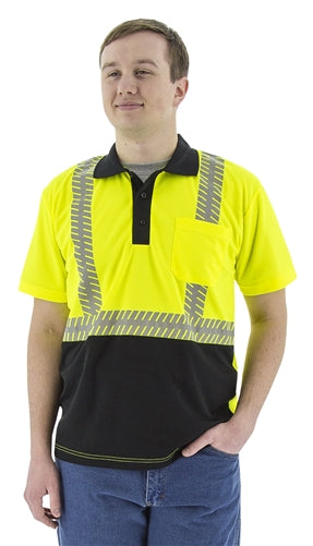 Majestic 5213 Safety Polo Shirt Hi-Vis