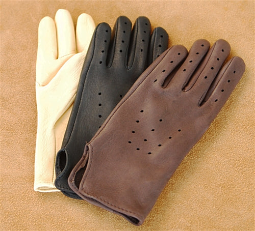 Geier Gloves 202 Deerskin Driving Gloves (Made In USA)