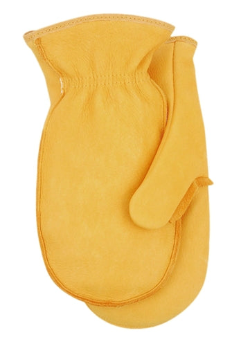 Midwest Glove 8100 Genuine Elkskin Choppers Mitt (Unlined) (Made in USA)