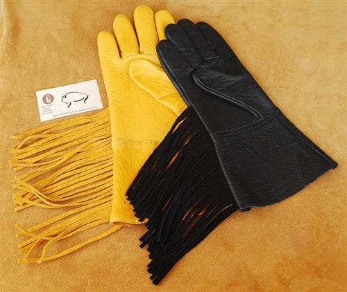 Geier Gloves 78 American Buffalo Gauntlet Gloves (Made In USA)