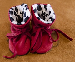 Geier Gloves Baby Moccs Dalmatian Print (Made In USA)