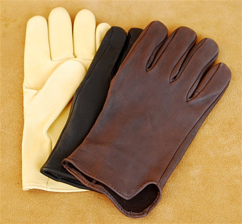 Geier Gloves 200 LDF Nordic Fleece Lined Deerskin Driving Gloves (Made in USA)