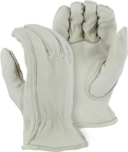 Majestic Gloves 1510 Premium Grade Cowhide Leather Driver (Dozen)