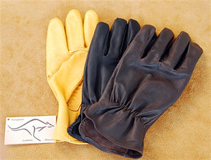 Geier Gloves 130ES Kangaroo Leather Driving Gloves (Made in USA)