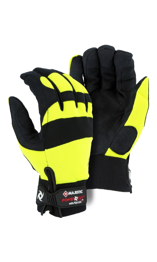 Majestic Gloves A2P37Y Alycore Cut Level A9 Cut and Puncture Resistant Gloves
