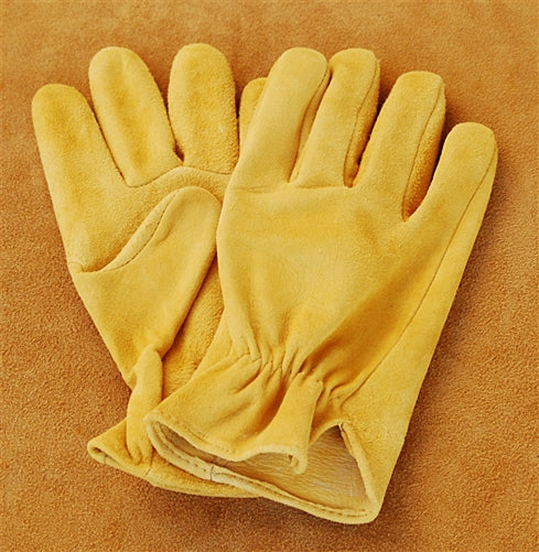 Geier Gloves 251 Suede Deerskin Driving Gloves (Made in USA)