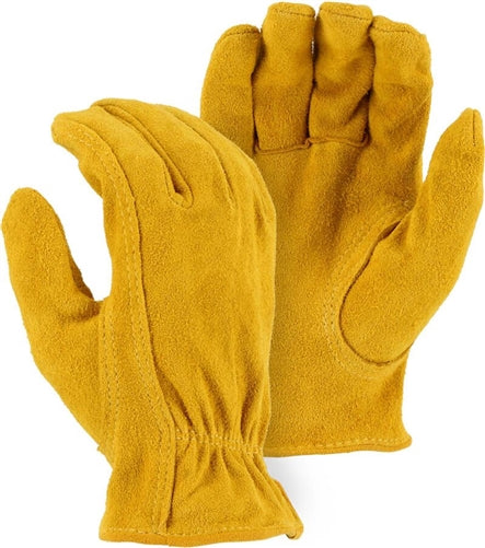 Majestic Gloves 1537 Deerskin Split Grain Driver (Dozen)