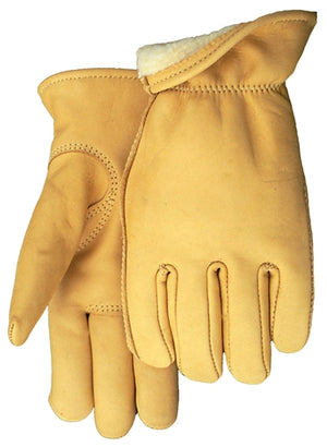 Midwest Glove 850TH Deerskin Thinsulate Lined Gloves (Made in USA)