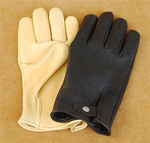 Geier Gloves 445 Elkskin Medium/Heavy Driving Gloves (Made in USA)