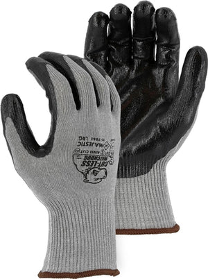Majestic Gloves 35-7660 Cut Level 5 Cut-Less Watchdog [flat nitrile coating] [Dozen]