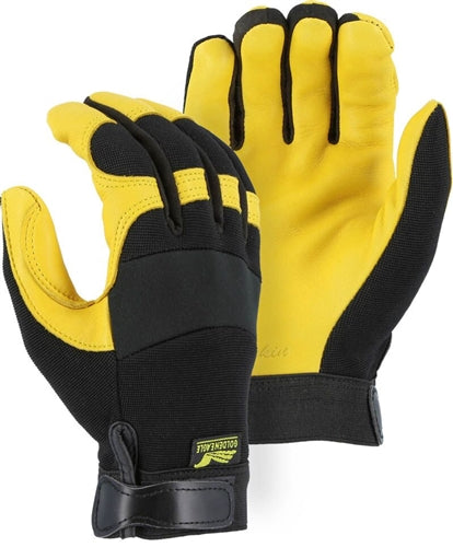 "Majestic Gloves 2150 Deerskin ""Golden Eagle"" Gloves (Dozen)"